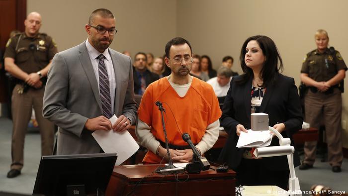 Ex-Teamarzt der US-Turnerinnen vor Gericht Larry Nassar (picture-alliance/dpa/P.Sancya)