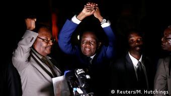 Ο διάδοχος του Μουγκάμπε, Έμερσον Μνανγκάγκβα, κομμάτι του συστήματος Μουγκάμπε