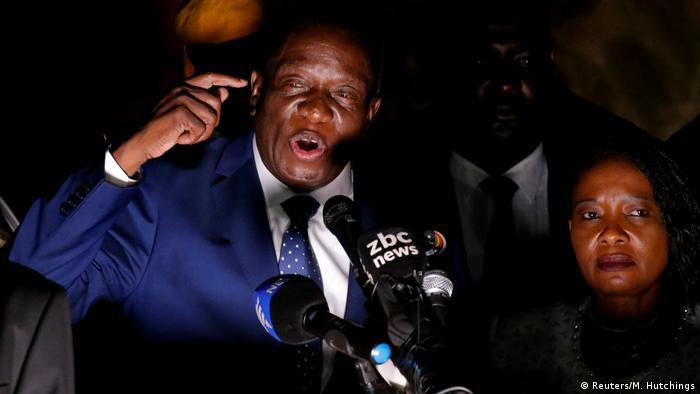 Simbabwe Emmerson Mnangagwa in Harare (Reuters/M. Hutchings)