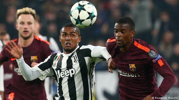 Douglas Costa playing for Juventus