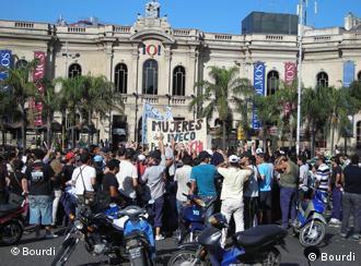 Demonstration von Iveco-Arbeitern in Cordoba (Foto: Joaquín Bourdi)