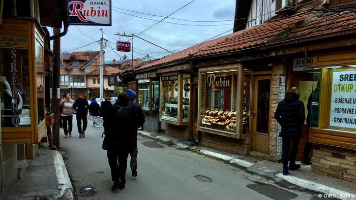 Balkan Booster Schmuckgeschäfte in Novi Pazar (DW/S. Balliu)