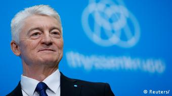 Essen Bilanz Thyssenkrupp Hiesinger, Chief Executive (Reuters/)