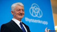 Essen Bilanz Thyssenkrupp Hiesinger, Chief Executive