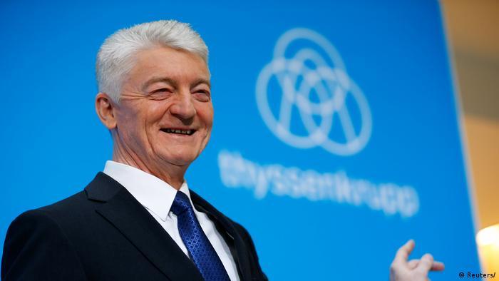 Essen Bilanz Thyssenkrupp Hiesinger, Chief Executive