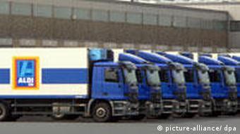 Aldi trucks