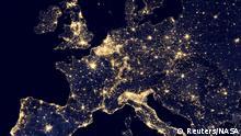 Lichtverschmutzung Europa