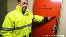 Atombunker der Landesregierung Entgiftungsraum