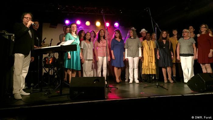 Deutschland Tanto Mar Festival in Köln Vozes do Brasil Choir