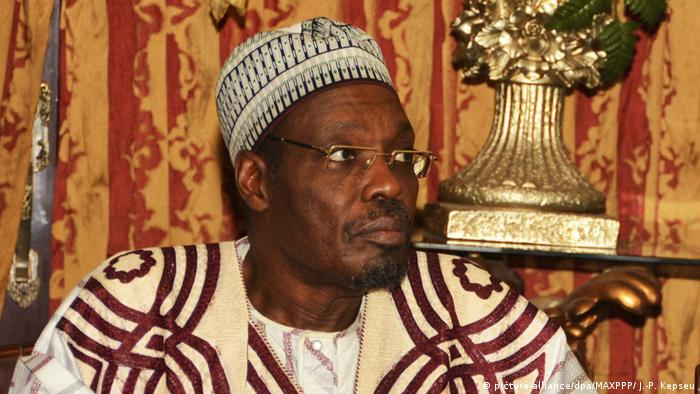 Cameroon's Communications minister Bakary Tchiroma