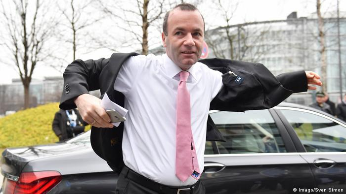 CSU politician and EEP leader Manfred Weber