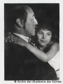 Judith Kerr mit ihrem Vater Alfred
