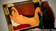 Deutschland - Modigliani-Ausstellung in Bonn