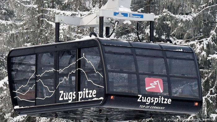 Accident gondola of the Zugspitz cable car rescued | DW Travel | DW