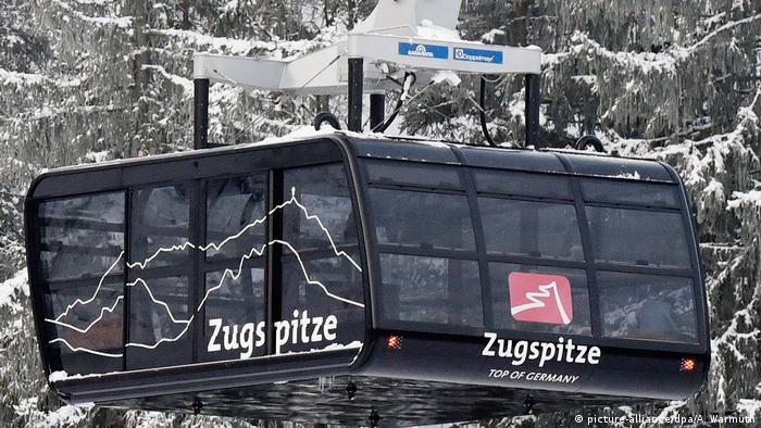 Deutschland - Rollstuhlgerechte Gondel zur Zugspitze (picture-alliance/dpa/A. Warmuth)