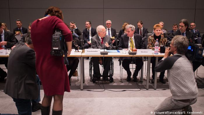 Provisional advisory body to Germany's lower house of parliament