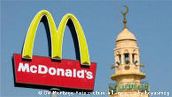 Minaret and McDonald's