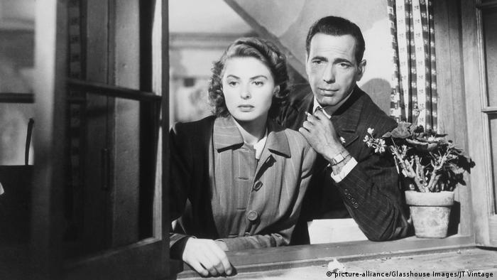 Filmstill - Casablanca (picture-alliance/Glasshouse Images/JT Vintage)