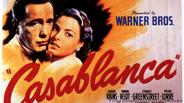 Filmposter - Casablanca (picture-alliance/Mary Evans Picture Library/Warner Bros)