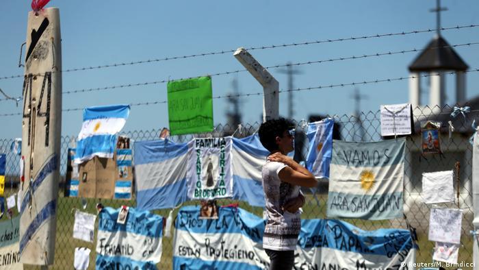 Argentinien U-Boot ARA San Juan verschollen (Reuters/M. Brindicci)