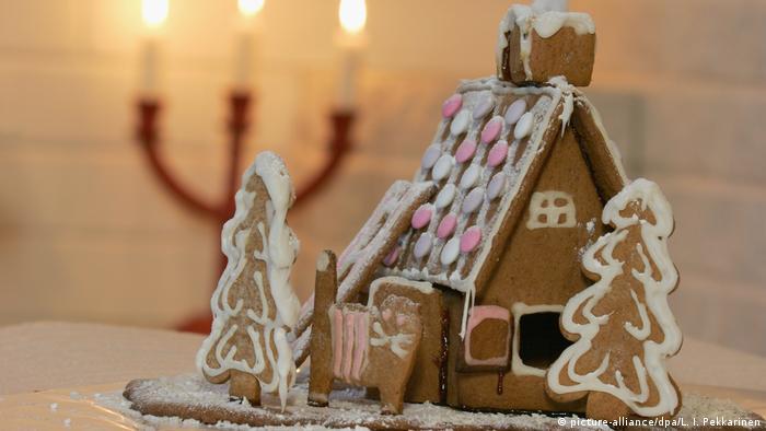 Рождественский календарь с немецкими рецептами: пряничный домик