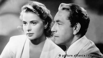 Ingrid Bergman e Paul Henreid em Casablanca