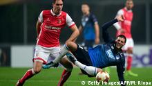 Fußball Europa League - S.C. Braga vs 1899 Hoffenheim (Getty Images/AFP/M. Riopa )