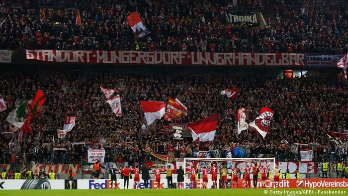 Fußball Europa League - FC Köln vs Arsenal London