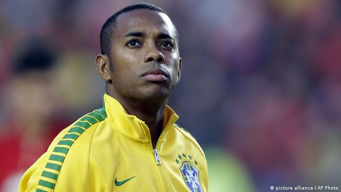 Robinho Nationalspieler Brasilien (picture alliance / AP Photo)
