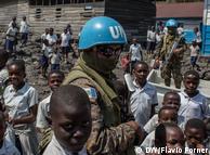 Блакитні шоломи місії ООН MONUSCO у Конго