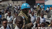 Kongo DRK UN-Mission MONUSCO im Sake im Ost-Kongo,
