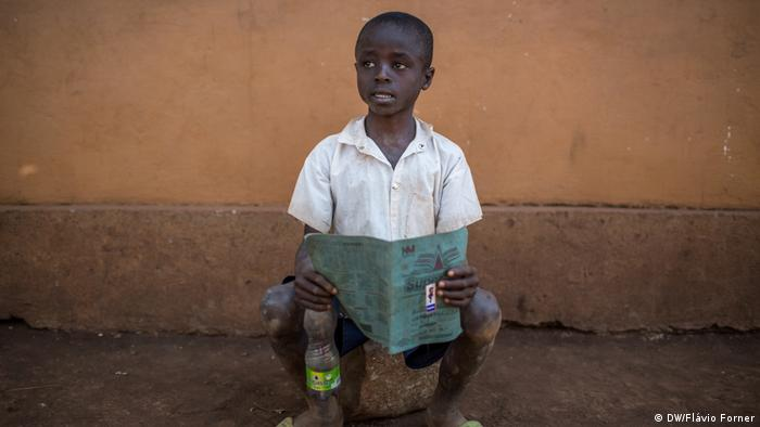 Kongo DRK Schulkind