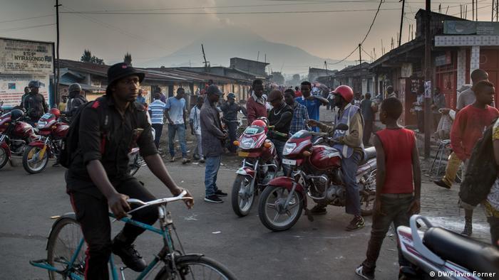 Kongo DRK Markt in Goma (DW/Flávio Forner )