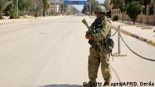 Syrien Deir al-Sur Russische Soldaten