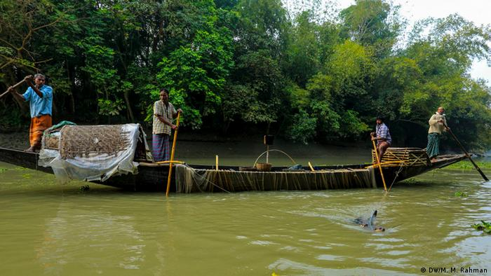 Rivers are a major source of livelihood for rural Bangladeshis