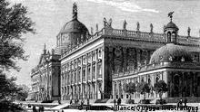 Neues Palais in Potsdam | Verwendung weltweit, Royalty free: Bei werblicher Verwendung Preis auf Anfrage., Keine Weitergabe an Wiederverkäufer.