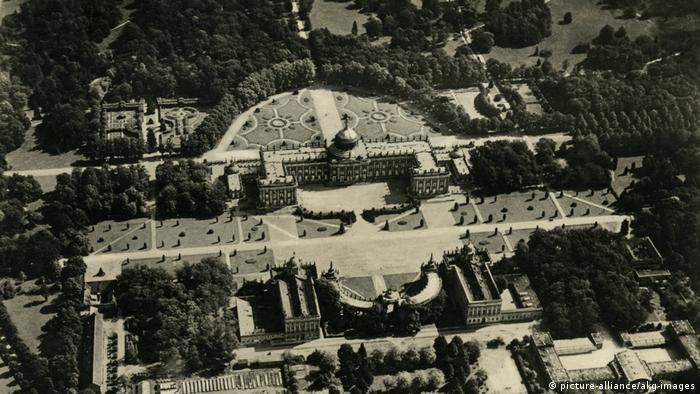 Новый дворец в Потсдаме