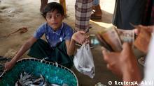 Myanmar Rohingya Refugee Boy
