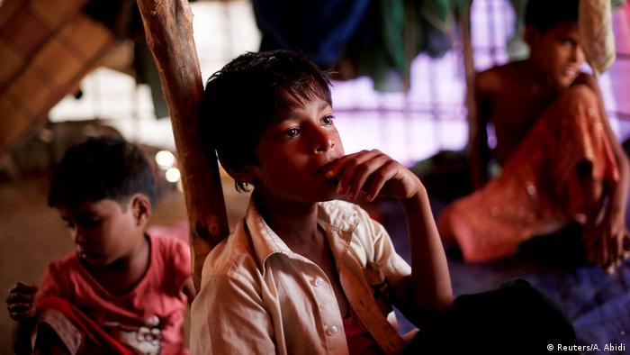 Myanmar Rohingya Refugee Boy (Reuters/A. Abidi)