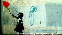 Banksy's Girl with a balloon