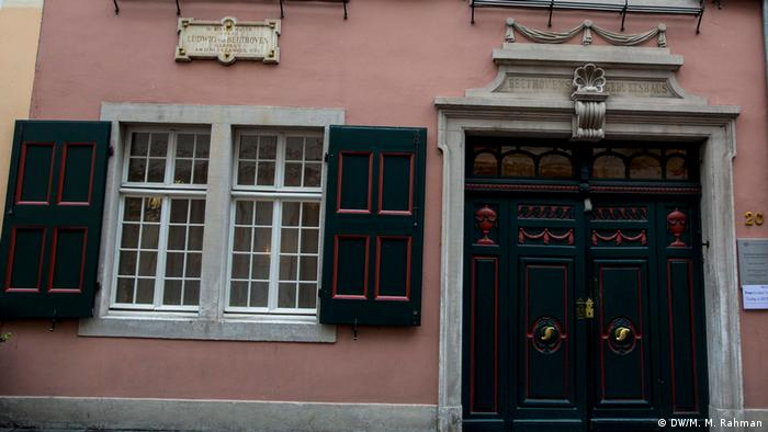 Beethoven's birth-house in Bonn (DW/M. M. Rahman)