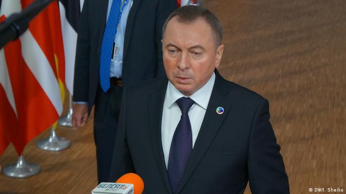 Aleksander Łukaszenka wysłał do Brukseli szefa dyplomacji Uładzimira Makieja