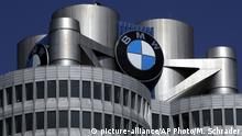 Deutschland BMW Hauptquartier in München