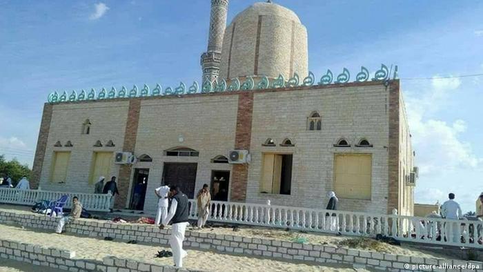 Ägypten Anschlag auf Moschee in Al-Arisch (picture-alliance/dpa)