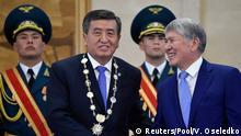 Kirgisistan Sooronbay Jeenbekov wird offiziell kirgisischer Präsident