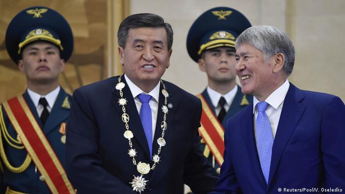Сооронбай Жээнбеков и Алмазбек Атамбаев