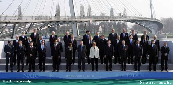 World leaders pose for group photo