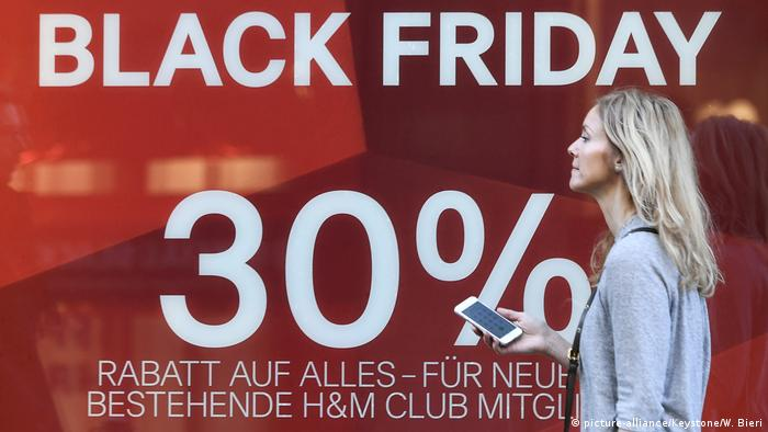Black Friday Hackers Exploit Shoppers Hunt For Hot Deals Europe News And Current Affairs From Around The Continent Dw 24 11 2017