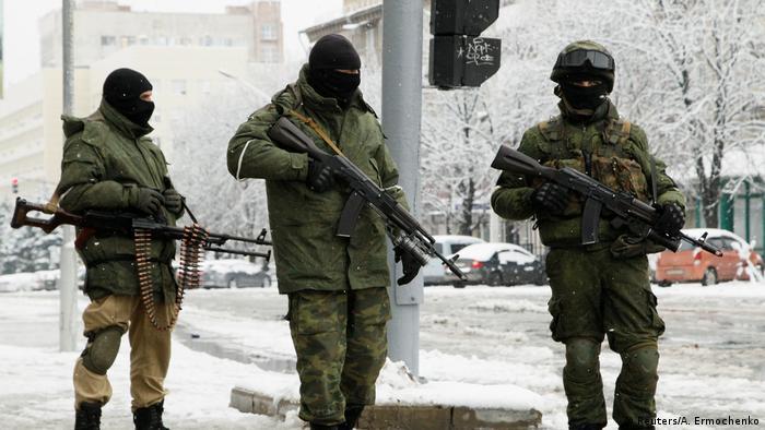 На вулицях Луганська