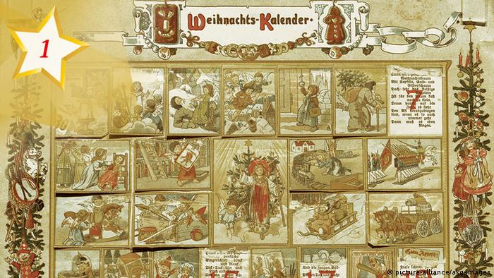 Traditional Advent calendar - Gerhard Lang (picture-alliance/akg-images)